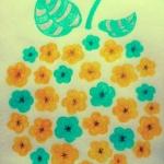 [なのはなブーケ]黄色に染まった畑を見たい