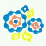 [ポワンなおはな]うねうねクネクネぽわわんと咲いた
