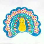 [開花]うれしい小鳥