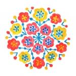 [花の刺繍]春を縫い表す