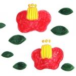 [ツバキ]花糸がすっとのびた姿が好き